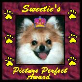 Sweeties Picture Perfect Award