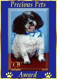 CB's Precious Pets Award
