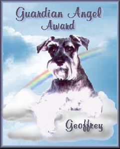 Geoffrey's Guardian Angel Award