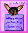 Mimi's Award