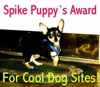 Spike Puppy's Award